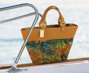 Vulcano bag Tropical Leaves