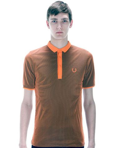 Fred Perry polo arancio