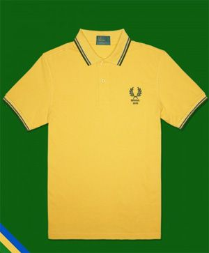 Polo Fred Perry Brasile