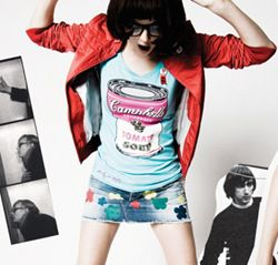 T-shirt Pepe Jeans Andy Warhol 2010