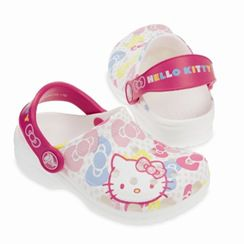 Sandalo bimba Crocs Hello Kitty