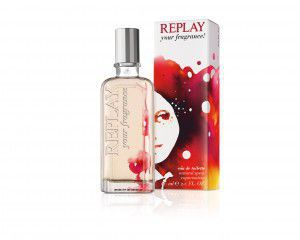 Replay your fragrance per lei