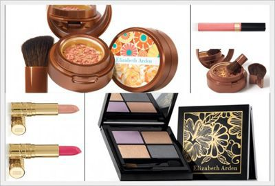 Bronze in Bloom: tutte scintillanti con il make up di Elizabeth Arden
