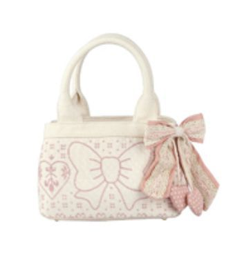 borsa rosa bianca Fix Design