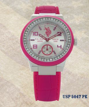 color cup uss polo orologio rosa